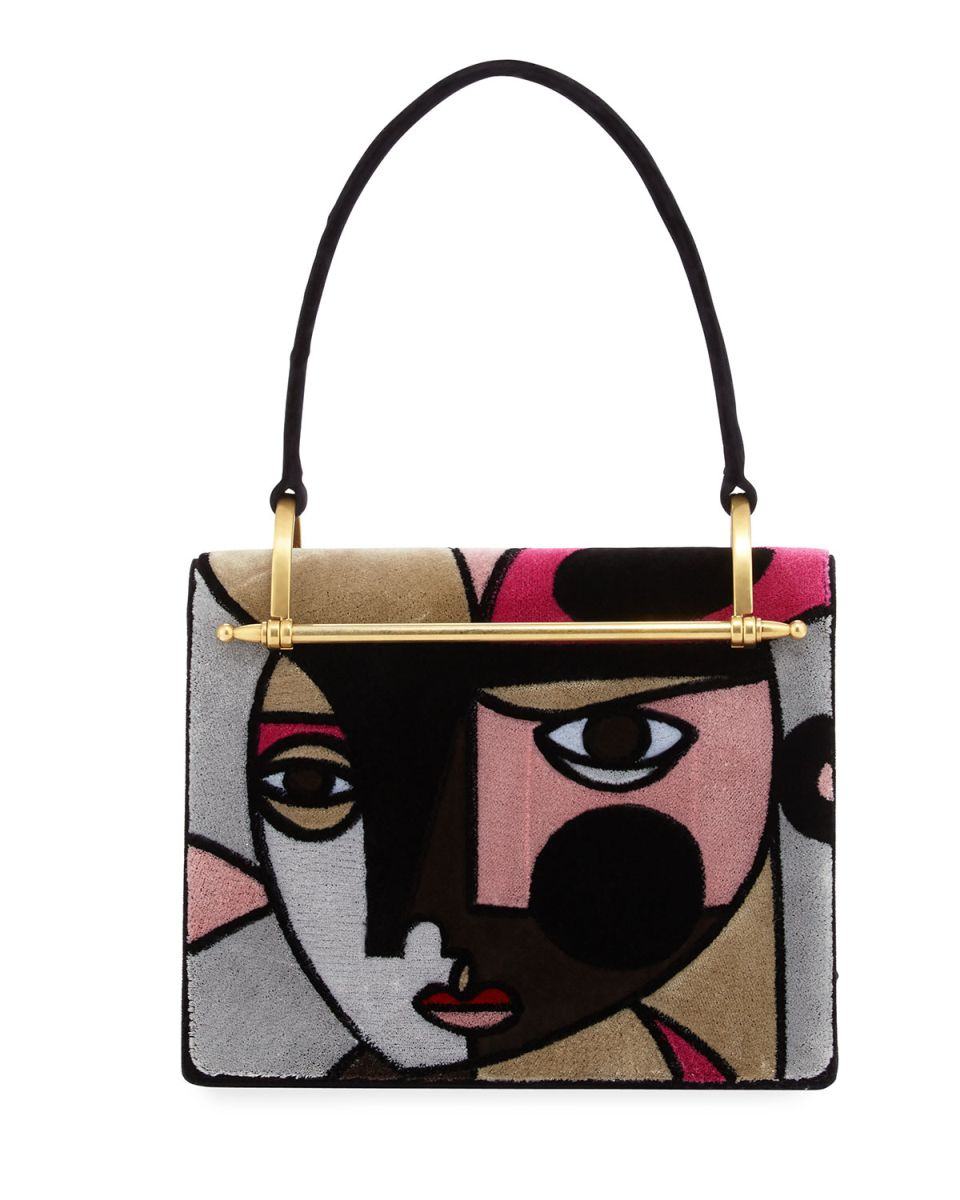 9d6427f0ad4b Miuccia Prada created for us a bag like as if she came out under the brush  of Pablo Picasso himself. A cubist style bag you can find here.