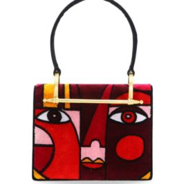 Object of Desire – Prada Pioneer Cubist Velvet Shoulder Bag
