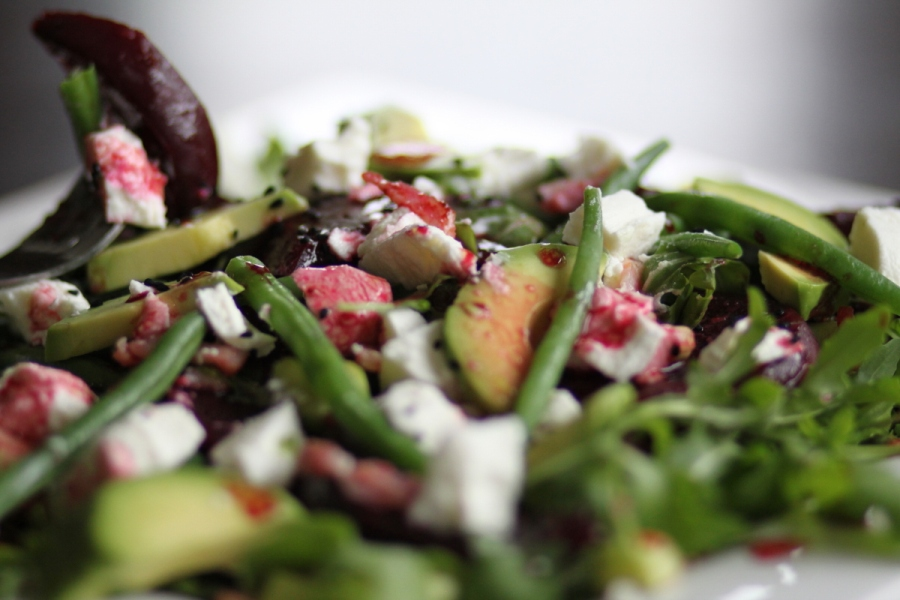Roasted beets salad 02