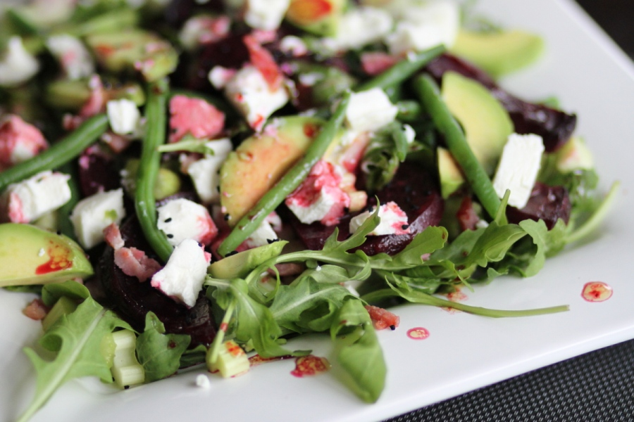 Roasted beets salad 03