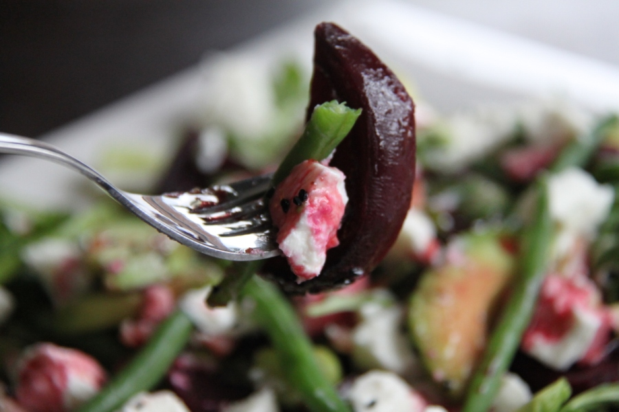 Roasted beets salad 04