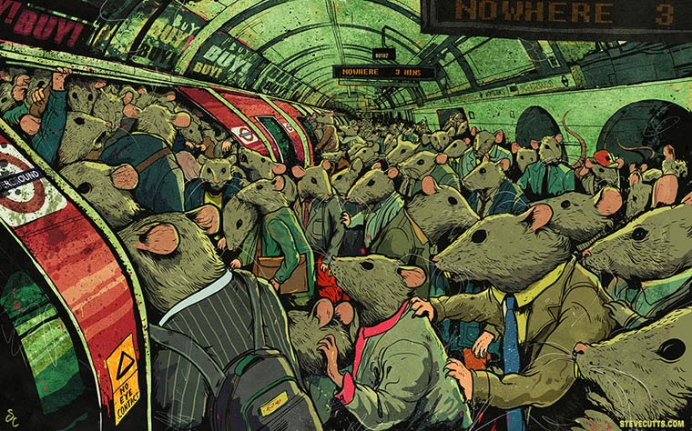Steve Cutts Satirical Illustrations 06