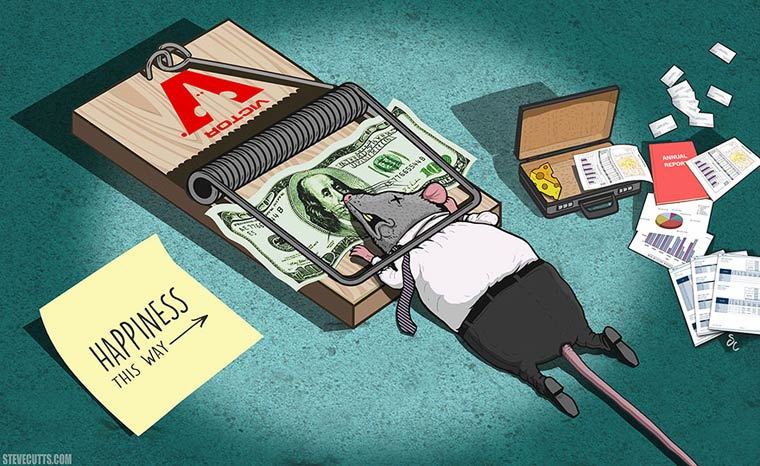 Steve Cutts Satirical Illustrations 07