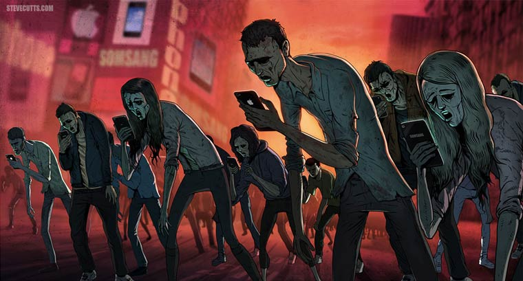 Steve Cutts Satirical Illustrations 08