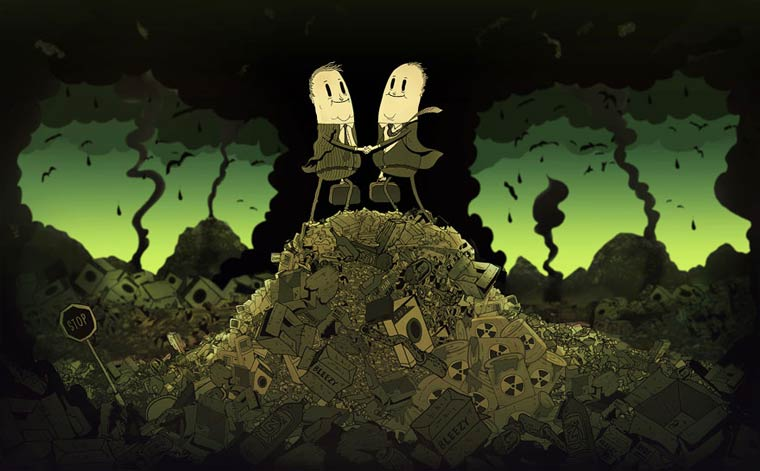 Steve Cutts Satirical Illustrations 09