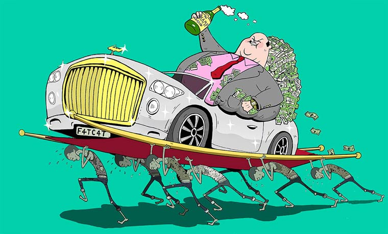 Steve Cutts Satirical Illustrations 15