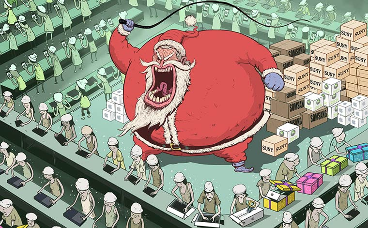 Steve Cutts Satirical Illustrations 16