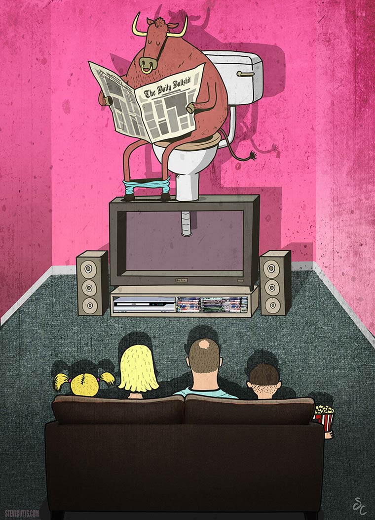 Steve Cutts Satirical Illustrations 17