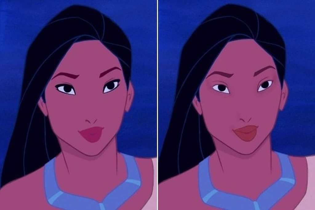 The Disney Princesses without makeup by Loryn Brantz 01