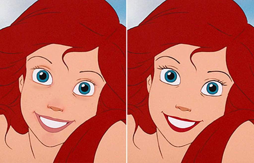 The Disney Princesses without makeup by Loryn Brantz 02